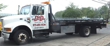 D&D Towing; Morris County Towing for cars of trucks